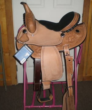 Harrison Barrel Saddle by Silver Royal