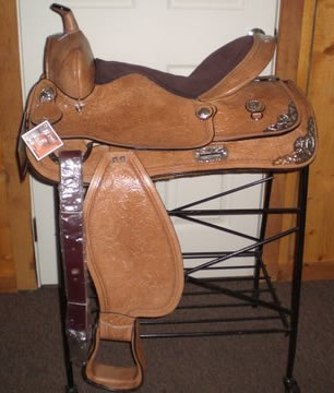 17 inch King series saddle package